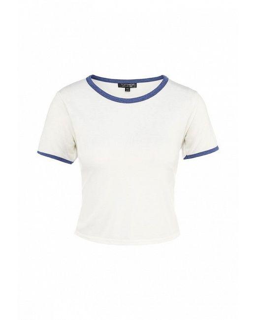 Футболка Topshop                                                                                                              белый цвет