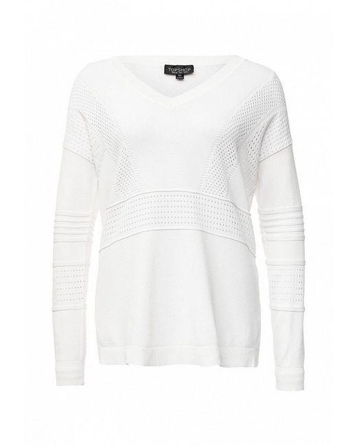 Пуловер Topshop                                                                                                              белый цвет
