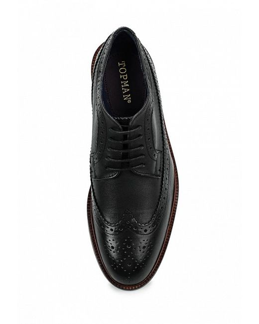 Туфли Topman                                                                                                              чёрный цвет