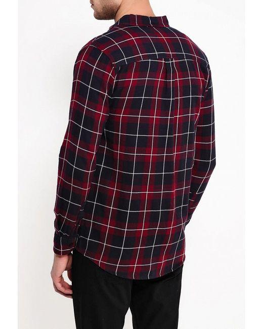Рубашка Topman                                                                                                              красный цвет