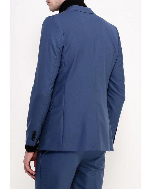 Пиджак Topman                                                                                                              синий цвет