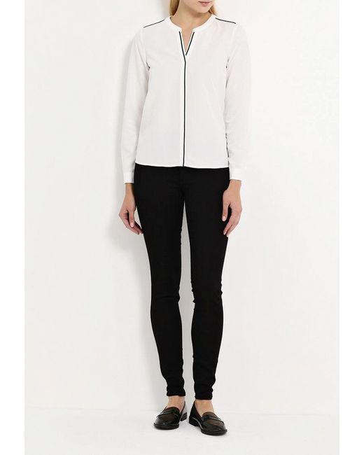 Блуза TOM TAILOR                                                                                                              белый цвет