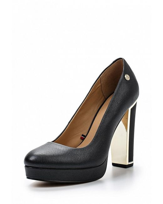 Туфли Tommy Hilfiger                                                                                                              чёрный цвет