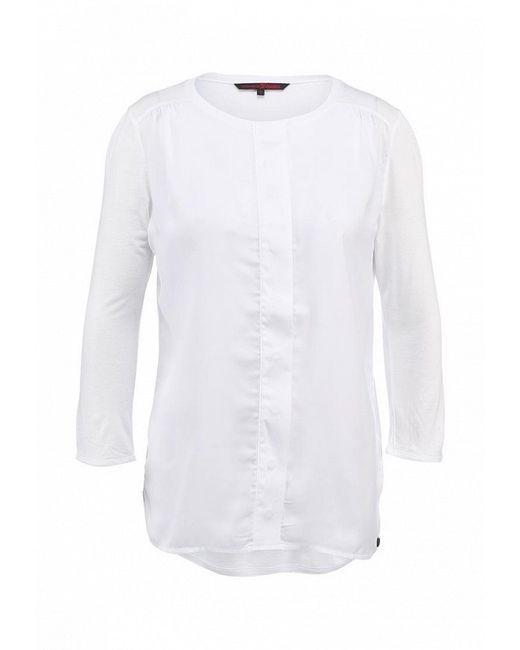 Блуза Tom Tailor Denim                                                                                                              белый цвет