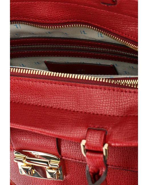 Сумка Trussardi Jeans                                                                                                              красный цвет