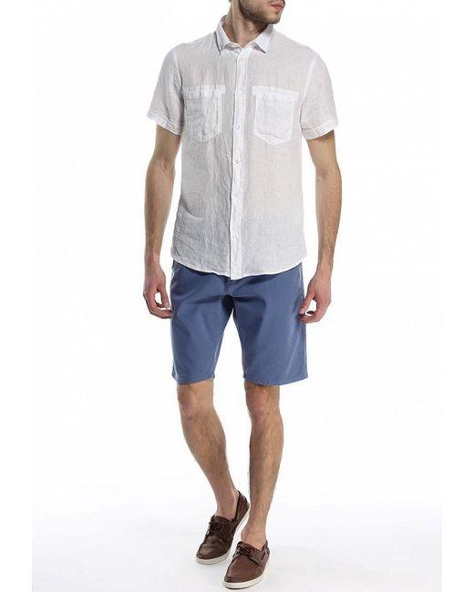 Рубашка Trussardi Jeans                                                                                                              белый цвет