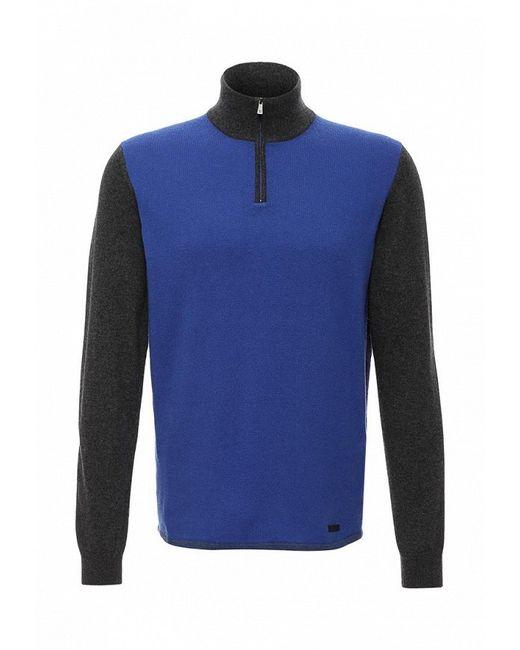 Поло Trussardi Jeans                                                                                                              синий цвет