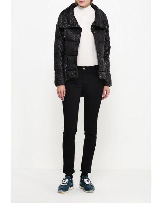 Пуховик Trussardi Jeans                                                                                                              чёрный цвет