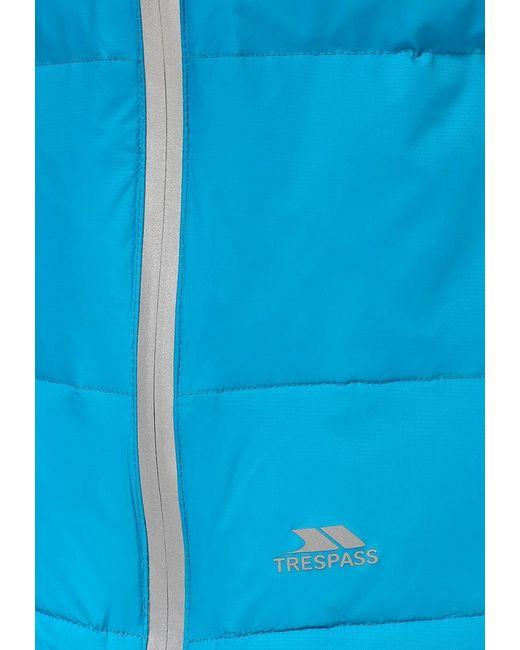 Пуховик Trespass                                                                                                              голубой цвет