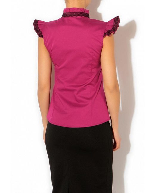 Блуза Tutto Bene                                                                                                              Фуксия цвет