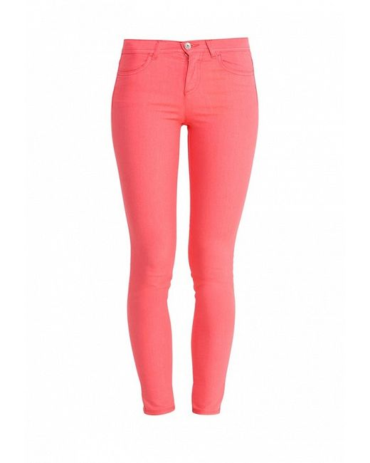 Джинсы United Colors Of Benetton                                                                                                              розовый цвет