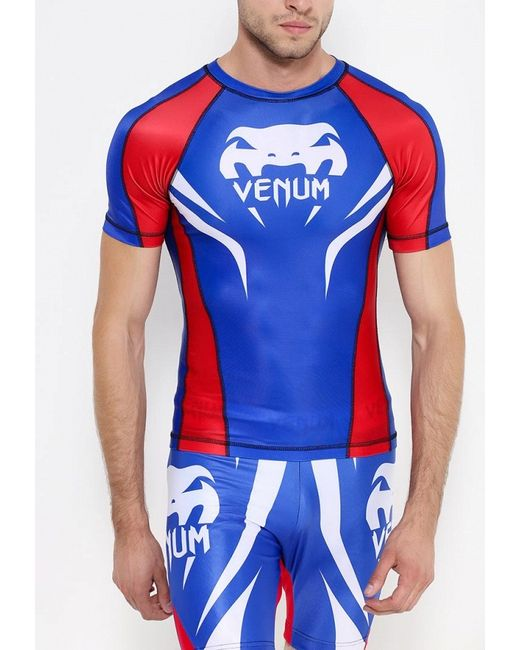 Футболка Спортивная Venum                                                                                                              синий цвет