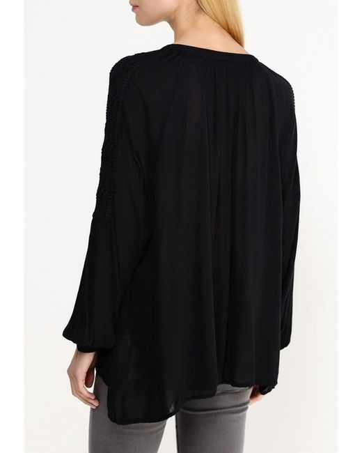Блуза Vila                                                                                                              чёрный цвет
