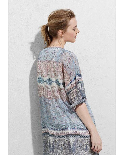 Платье Violeta by Mango                                                                                                              многоцветный цвет