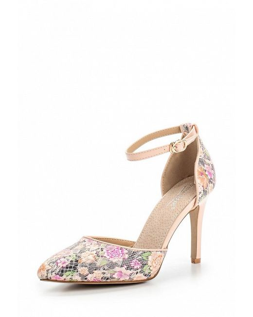 Туфли Vivian Royal                                                                                                              розовый цвет