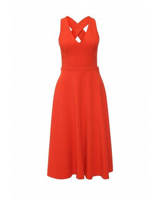 Платье Warehouse                                                                                                              красный цвет