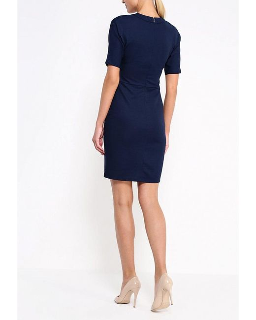 Платье Zarina                                                                                                              синий цвет