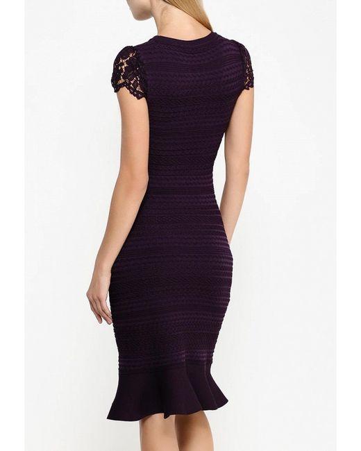 Платье Zarina                                                                                                              фиолетовый цвет