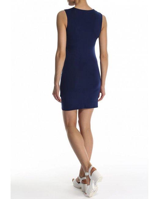 Платье Zalora                                                                                                              синий цвет