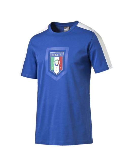 Футболка Figc Italia Fanwear Badge Tee Puma                                                                                                              None цвет