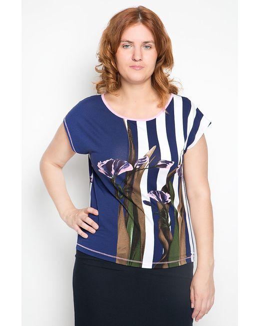 Блузка Milana Style                                                                                                              синий цвет