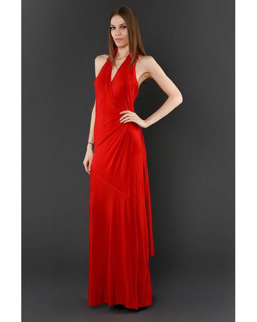 Платье Вечернее Donna Karan                                                                                                              красный цвет