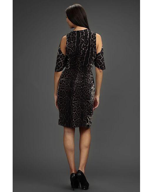 Платье Saint Laurent                                                                                                              серый цвет
