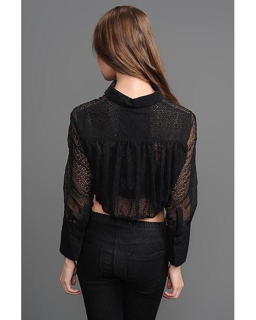 Рубашка Alaïa                                                                                                              чёрный цвет