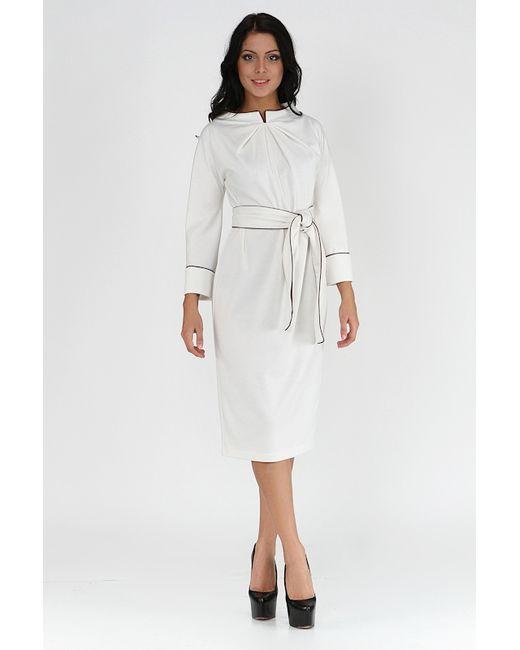 Платье Alina Assi                                                                                                              белый цвет