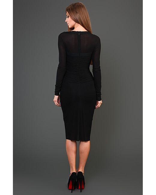 Платье Вечернее Herve' L. Leroux                                                                                                              чёрный цвет