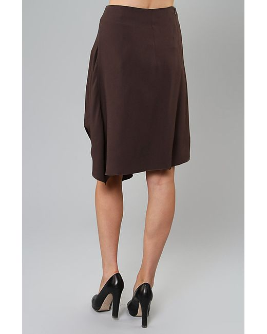 Юбка Marni                                                                                                              коричневый цвет