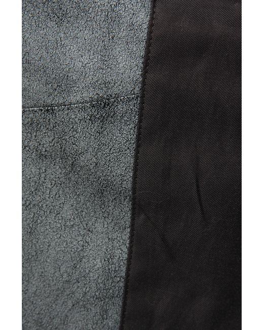 Куртка Кожаная Rag & Bone                                                                                                              серый цвет