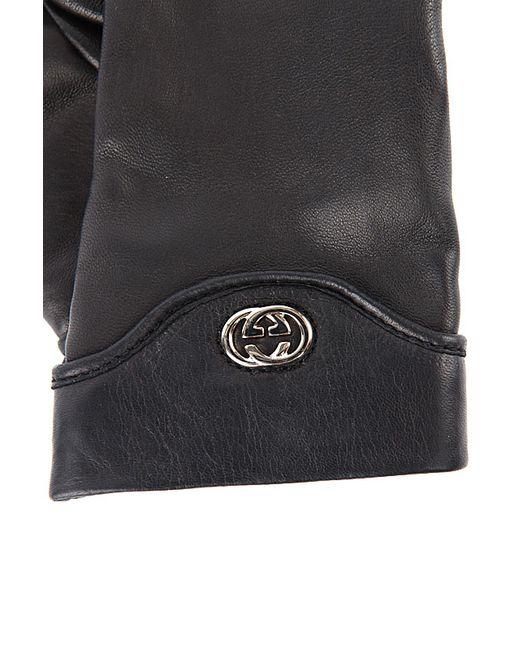 Перчатки Кожаные Gucci                                                                                                              None цвет