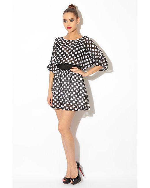 Платье L.A.V. Fashion                                                                                                              чёрный цвет