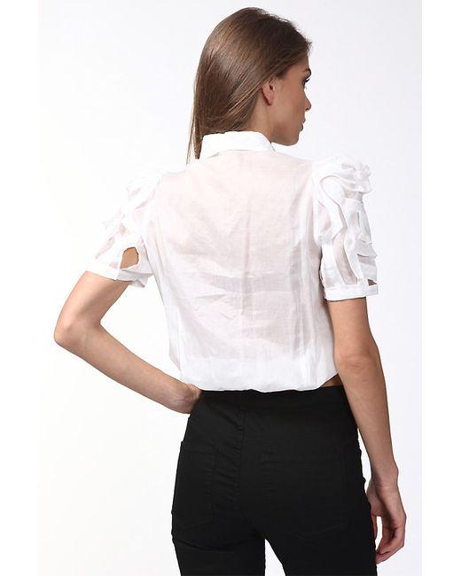 Блуза Girbaud                                                                                                              белый цвет