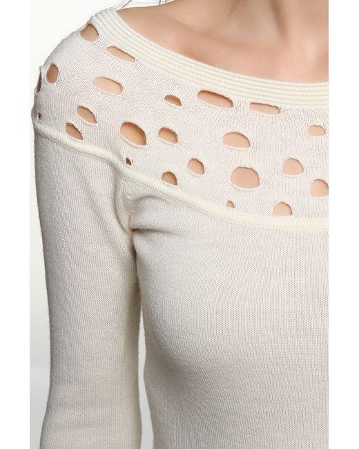 Пуловер Джерси Catherine Malandrino                                                                                                              бежевый цвет