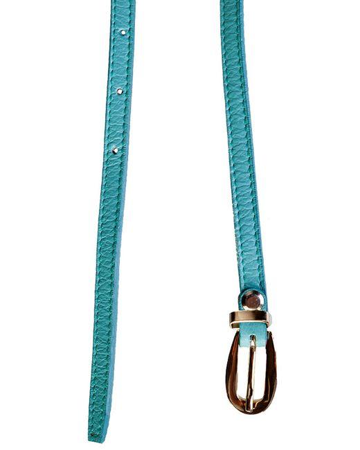 Ремень Marina Creazioni                                                                                                              голубой цвет
