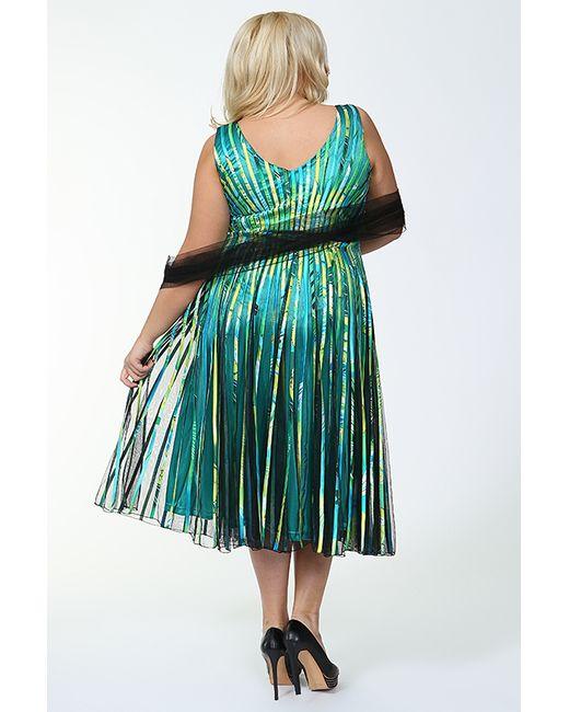 Платье Lia Mara                                                                                                              зелёный цвет