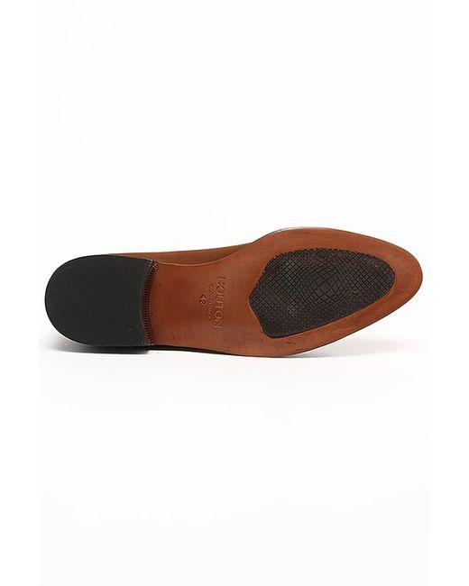 Туфли Bouton                                                                                                              коричневый цвет