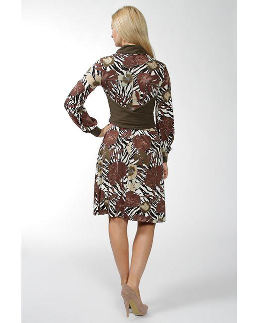 Платье Lissa                                                                                                              коричневый цвет