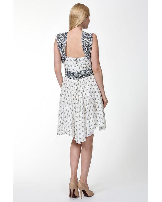 Платье Pierre Balmain                                                                                                              белый цвет