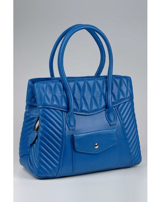 Сумка Piero                                                                                                              синий цвет