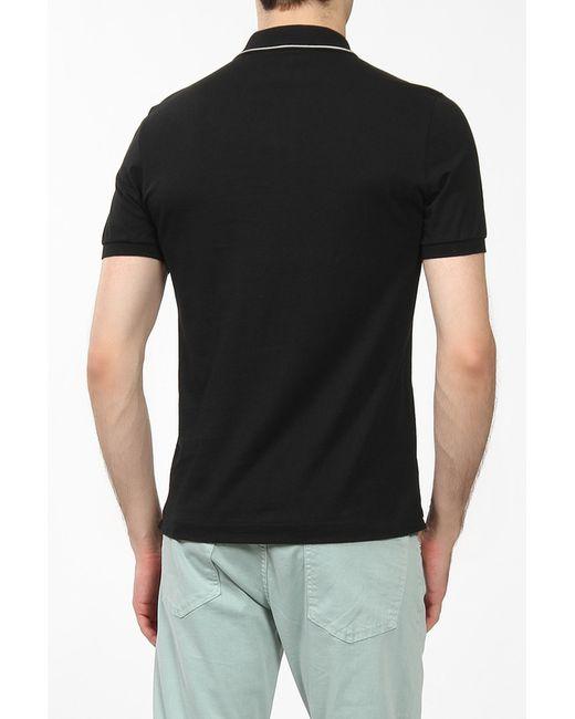 Поло Lacoste                                                                                                              чёрный цвет