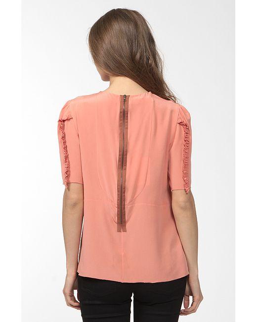 Блуза Marni                                                                                                              розовый цвет