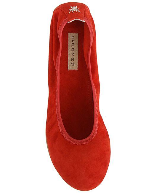 Балетки Renzi                                                                                                              красный цвет