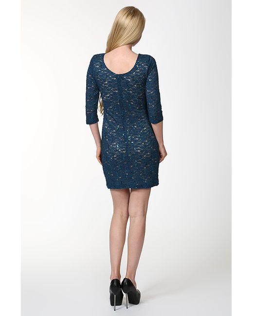 Платье Deja-Vu                                                                                                              голубой цвет