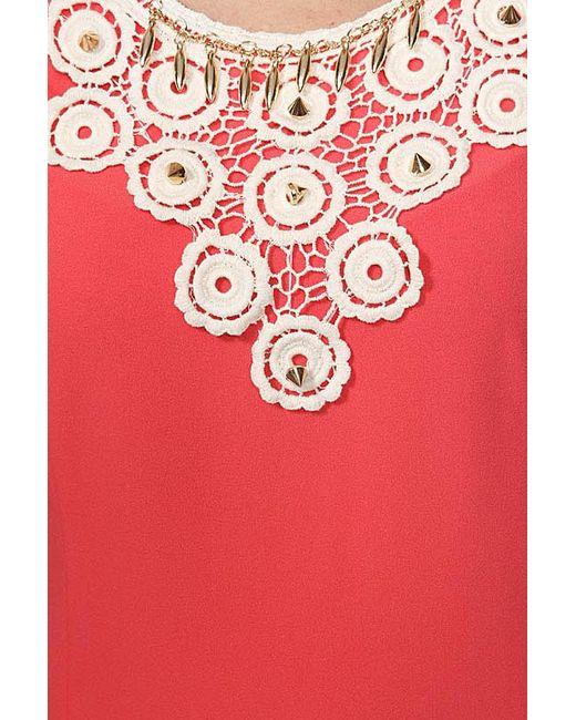 Платье Valeria Lux                                                                                                              красный цвет