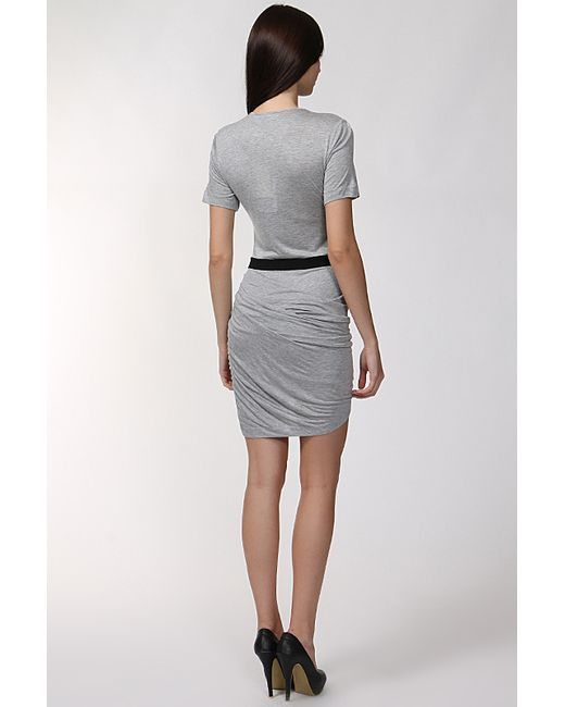 Платье Джерси By Malene Birger                                                                                                              серый цвет