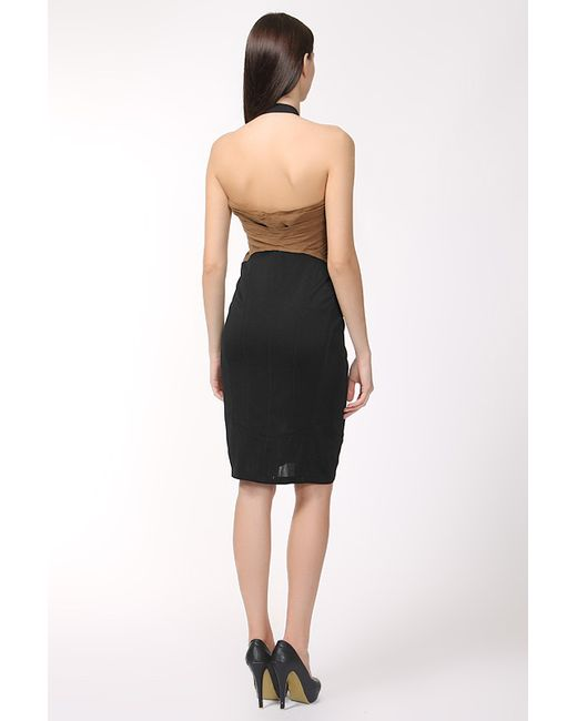 Платье Donna Karan                                                                                                              многоцветный цвет