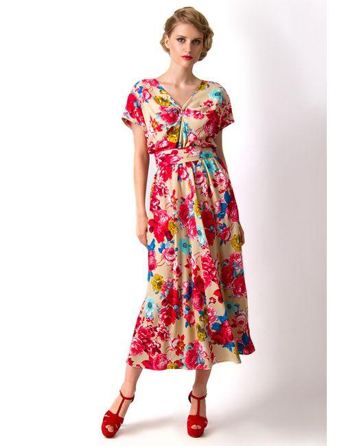 Платье Vika Smolyanitskaya                                                                                                              бежевый цвет
